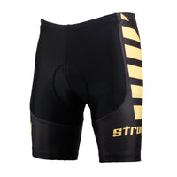 Yellow Letter Strong Wing Cycling Padded Bike Shorts Spandex Clothing and Riding Gear Summer Pant Road Bike Wear Mountain Bike MTB Clothes Sports Apparel Quick dry Breathable NO. DK619 -  Cycling Apparel, Cycling Accessories | BestForCycling.com