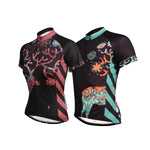 Ilpaladino Elk Night Lovers/Couples Clothes Romantic Short-sleeve Cycling Jerseys Spring Summer Woman's Men's Sportswear Apparel Outdoor Sports Gear Leisure Biking T-shirt NO.642 -  Cycling Apparel, Cycling Accessories | BestForCycling.com