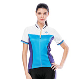 Sea and Fish White Blue Purple Women's Cycling Short-sleeve Bike Jersey/Kit T-shirt Summer Spring Road Bike Wear Mountain Bike MTB Clothes Sports Apparel Top / Suit NO. 796 -  Cycling Apparel, Cycling Accessories | BestForCycling.com