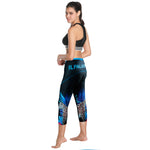 Cycling Pants Women Premium 3D Padded Breathable ¾ Cycling Tights(Leopard printing) -  Cycling Apparel, Cycling Accessories | BestForCycling.com