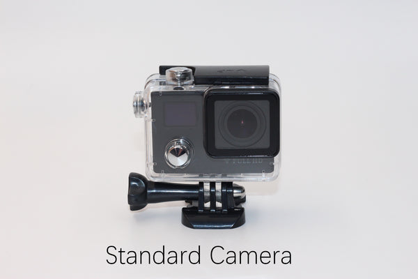 V12 1080P Action Camera Dual Screen Display Gyro RSC Underwater Waterproof 2 inch FHD Screen with Smart 2.4G Rechargeable Remote Control For Aerial Photograph Diving Cylcling Helmet Cam Wi-Fi Share FHD Sports DV -  Cycling Apparel, Cycling Accessories | BestForCycling.com