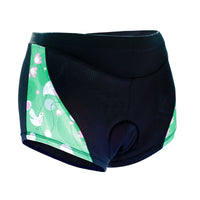 Spring Bird Green 3D Padded Cycling Underwear Shorts Bicycle Underpants Lightweight Bike Biking Shorts Breathable Bicycle Pants Lightweight NO. SFK005 -  Cycling Apparel, Cycling Accessories | BestForCycling.com