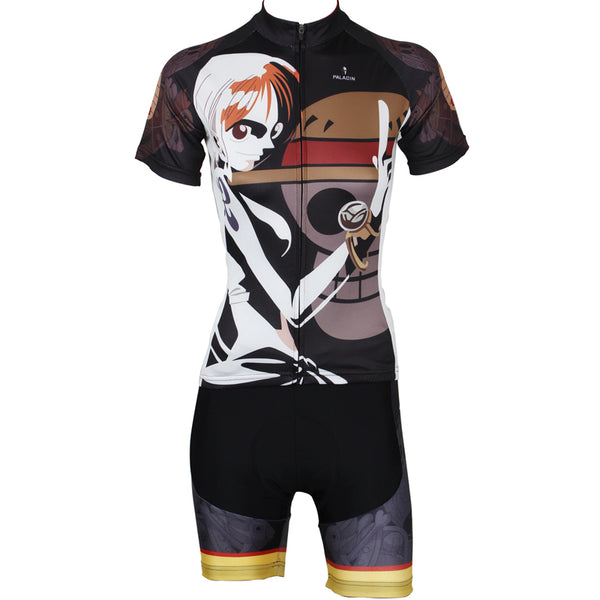 ONE PIECE Series Woman's Short-sleeve Cycling Suit Jersey Team Leisure Jacket T-shirt Pretty Summer Spring Autumn Clothes Sportswear Anime Navigator Nami -  Cycling Apparel, Cycling Accessories | BestForCycling.com