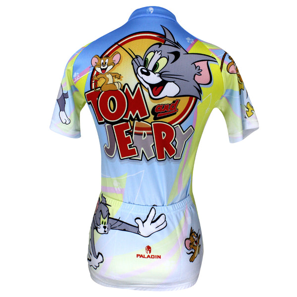 ... Ilpaladino Tom And Jerry Cats and Mouses Woman s Short Long-sleeve Bike  Shirt Cycling ... be030655d