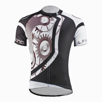 ILPALADINO Men's Cycling Jersey Simple Style Comfortable Bike Shirt Mountain Biking Apparel Outdoor Sports Gear Leisure Biking T-shirt Black and White NO.618 -  Cycling Apparel, Cycling Accessories | BestForCycling.com