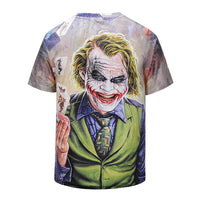 Magician Clown Mens T-shirt Graphic 3D Printed Round-collar Short Sleeve Summer Casual Cool T-Shirts Fashion Top Tees DX803001# -  Cycling Apparel, Cycling Accessories | BestForCycling.com
