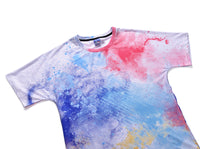 Watercolour Mens T-shirt Graphic 3D Printed Round-collar Short Sleeve Summer Casual Cool T-Shirts Fashion Top Tees DX805002# -  Cycling Apparel, Cycling Accessories | BestForCycling.com