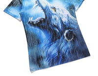 Arrogance Wolf Rainy Day Mens T-shirt Graphic 3D Printed Round-collar Short Sleeve Summer Casual Cool T-Shirts Fashion Top Tees DX801001# -  Cycling Apparel, Cycling Accessories | BestForCycling.com