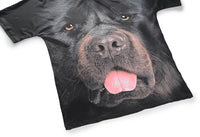 Black Dog Mens T-shirt Graphic 3D Printed Round-collar Short Sleeve Summer Casual Cool T-Shirts Fashion Top Tees DX803030# -  Cycling Apparel, Cycling Accessories | BestForCycling.com