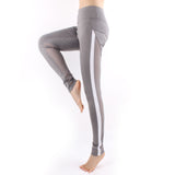 Women Strip Side Mesh Yoga Jogger Sports Pants Workout Tights LA01 -  Cycling Apparel, Cycling Accessories | BestForCycling.com