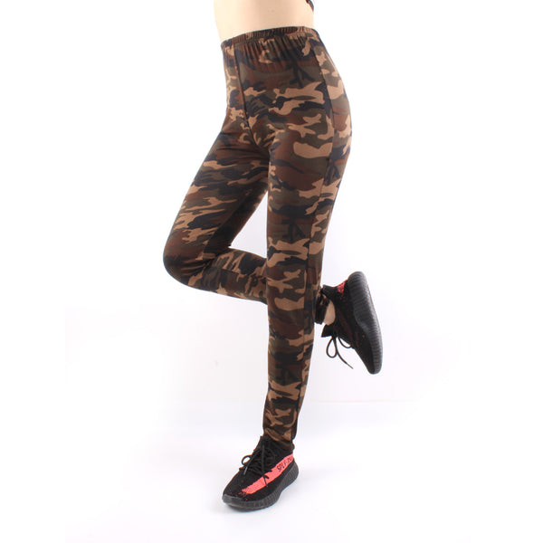 Camouflaged High Waist Yoga Pants For Women LMC01 -  Cycling Apparel, Cycling Accessories | BestForCycling.com