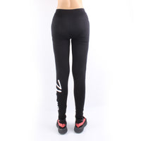 Women's Letter Print Active Fitness Quick Dry Sports Gym Yoga Workout Athletic Leggings Pants Running Tights Yoga Pants Bottom Black LK01 -  Cycling Apparel, Cycling Accessories | BestForCycling.com
