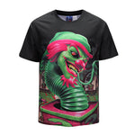 Green Snake Clown Mens T-shirt Graphic 3D Printed Round-collar Short Sleeve Summer Casual Cool T-Shirts Fashion Top Tees DX803029# -  Cycling Apparel, Cycling Accessories | BestForCycling.com