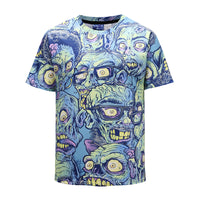 Ugly Faces Mens T-shirt Graphic 3D Printed Round-collar Short Sleeve Summer Casual Cool T-Shirts Fashion Top Tees DX803031# -  Cycling Apparel, Cycling Accessories | BestForCycling.com
