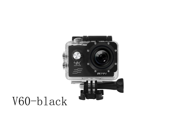V60 4K Action Camera Sport Video Photo Aerial Photography Camera Wi-Fi Full HD Screen Waterproof Super lightweight Underwater Cam 16M 170° Wide Angle lens with Removable Battery and Mounting Accessory Kits -  Cycling Apparel, Cycling Accessories | BestForCycling.com
