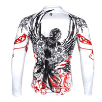 ILPALADINO Rose Angel Men's  Long Sleeves Cycling Jacket Spring Autumn Exercise Bicycling Pro Cycle Clothing Racing Apparel Outdoor Sports Leisure Biking Shirts NO.721 -  Cycling Apparel, Cycling Accessories | BestForCycling.com