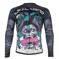 ILPALADINO Men's  Sport Long Sleeves Cycling Jerseys  Winter Exercise Bicycling Pro Cycle Clothing Racing Apparel Outdoor Sports Leisure Biking Shirts (Velvet) NO.720 -  Cycling Apparel, Cycling Accessories | BestForCycling.com
