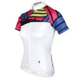 Ilpaladino Colorful Shoulder Women's Short-sleeve Cycling Jerseys Summer Pro Cycle Clothing Racing Apparel Outdoor Sports Leisure Biking shirt NO. 778 -  Cycling Apparel, Cycling Accessories | BestForCycling.com
