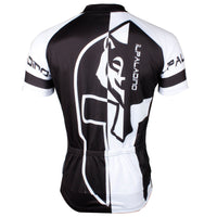 ILPALADINO Men's Bicycling Jersey in Summer Black and White Mountain Bike and Road Bike Shirt Short Sleeve Breathable NO.746 -  Cycling Apparel, Cycling Accessories | BestForCycling.com