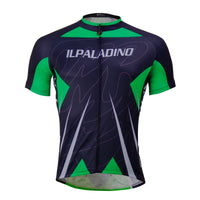 Green Men's Cycling Summer Shirt Jersey Black NO.760 -  Cycling Apparel, Cycling Accessories | BestForCycling.com