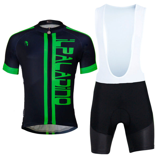 Ilpaladino Green-word/White-word Cycling Short-sleeve Suit /Jersey Exercise Bicycling Pro Cycle Clothing Racing Apparel Outdoor Sports Leisure Biking Shirts Team Kit NO.761 -  Cycling Apparel, Cycling Accessories | BestForCycling.com