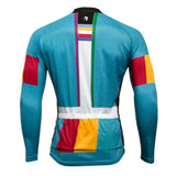 Men's  Comfortable Breathable Long-sleeve Blue Cycling Jersey Outdoor Sportswear Leisure Biking Shirt Fall/Autumn Bicycle clothing NO.763 -  Cycling Apparel, Cycling Accessories | BestForCycling.com