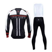 ILPALADINO Men's Cycling Long-sleeved Jersey Spring Autumn Cycling Suit Cycling Bib tight Trouser Black and White Sportswear Apparel Outdoor Sports Gear Leisure Biking T-shirt Team Kit NO.771 -  Cycling Apparel, Cycling Accessories | BestForCycling.com