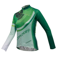 ILPALADINO Women's Long Sleeves Cycling Jersey Apparel Outdoor Sports Gear Leisure Biking T-shirt (Velvet) 770 -  Cycling Apparel, Cycling Accessories | BestForCycling.com