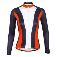 Red-collar Women's Long-Sleeve Cycling Jersey Red-collar MTB Jerseys 736 -  Cycling Apparel, Cycling Accessories | BestForCycling.com