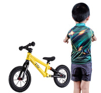 Short Sleeve Children Kids Boys' Cycling Jersey Set (3D Padded Shorts)