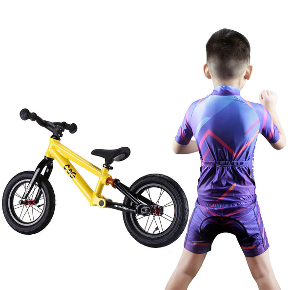 f24590e4f ... Children Boys  Girls  Cycling Jersey Set For Kids Road Mountain Bike  Short Sleeve with ...