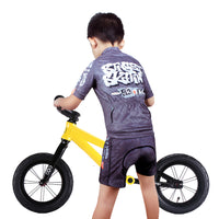 Kids Cycling Jersey Set with 3D Padded Shorts Cartoon Bike Top -  Cycling Apparel, Cycling Accessories | BestForCycling.com