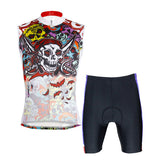Skull Men's Cycling Sleeveless Summer Jersey NO. W088 -  Cycling Apparel, Cycling Accessories | BestForCycling.com