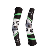 Kung Fu Panda Professional Outdoor Sport Wear Compression Arm Sleeve Oversleeve Pair Breathable UV Protection Unisex NO.X020 -  Cycling Apparel, Cycling Accessories | BestForCycling.com