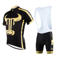 ILPALADINO Animal Golden Bull Man's Short-sleeve Cycling Jersey Team Kit Jacket Pro Cycle Clothing Racing Apparel T-shirt Summer Spring Suit Spring Autumn Clothes Sportswear NO.628 -  Cycling Apparel, Cycling Accessories | BestForCycling.com