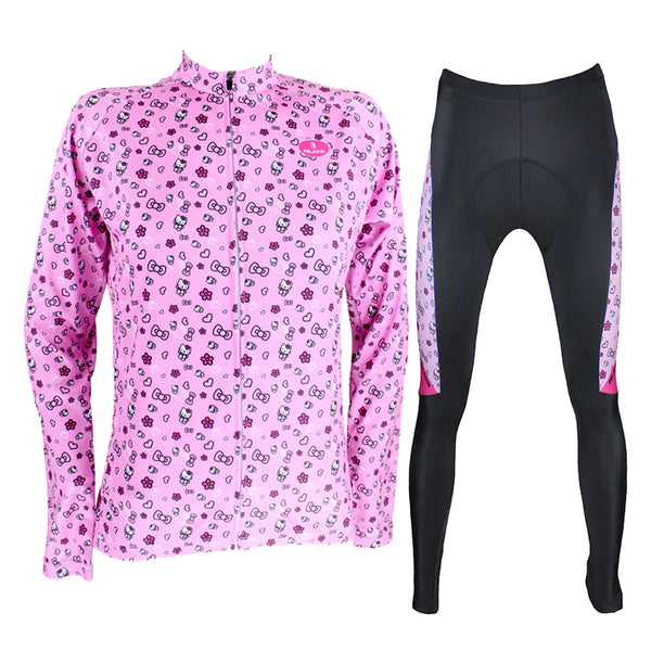 HELLO KITTY Princess Women's Cycling Suit/Jersey T-shirt Summer Pink Kit NO.081 -  Cycling Apparel, Cycling Accessories | BestForCycling.com