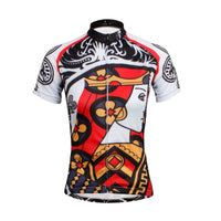Playing Cards Poker Face Clubs Queen Women's Long Sleeves Cycling Suit Jerseys NO.640 -  Cycling Apparel, Cycling Accessories | BestForCycling.com