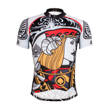 Poker Face Playing Card Spades Jack Men's Biking Cycling Jersey Artistic PatternShirt Face Cards Court Cards NO.639 -  Cycling Apparel, Cycling Accessories | BestForCycling.com