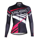 Ilpaladino Pink Black Fashion Women's Long-sleeve Cycling Top Jersey Summer Spring Autumn Pro Cycle Clothing Racing Apparel Outdoor Sports Leisure Biking shirt NO. 733 -  Cycling Apparel, Cycling Accessories | BestForCycling.com