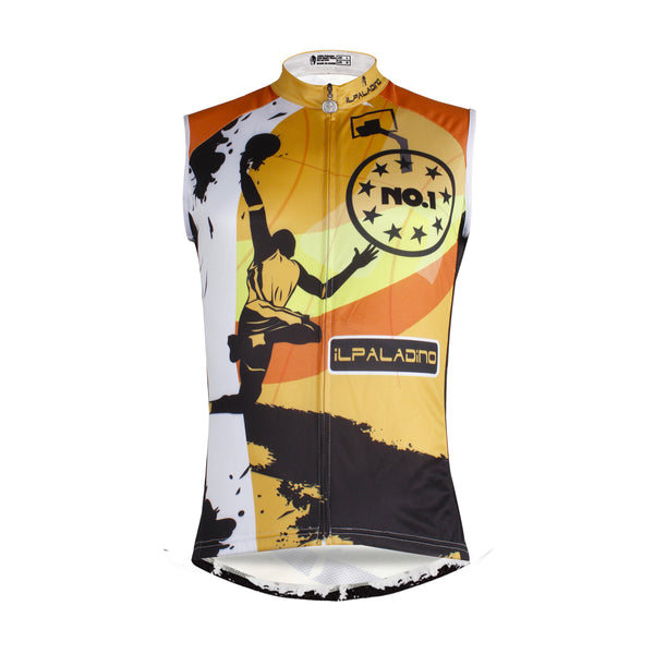 Slam Dunk Basketball Jump NO.1 Men's Cycling Sleeveless Bike Jersey T-shirt Summer Spring Road Bike Wear Mountain Bike MTB Clothes Sports Apparel Top NO.W 676 -  Cycling Apparel, Cycling Accessories | BestForCycling.com
