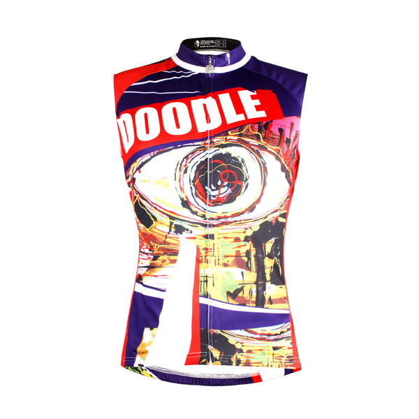 Doodle Eyes Abstract Art Men's Cycling Sleeveless Bike jersey T-shirt Summer Spring Road Bike Wear Mountain Bike MTB Clothes Sports Apparel Top NO.W 667 -  Cycling Apparel, Cycling Accessories | BestForCycling.com