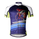 ILPALADINO Riding Bike At Night Men's Cycling Jersey MTB Biking Apparel   Bike Shirt Breathable and Quick Dry Comfortable Cycling Jersey Apparel Outdoor Sports Gear Leisure Biking T-shirt NO.739 -  Cycling Apparel, Cycling Accessories | BestForCycling.com