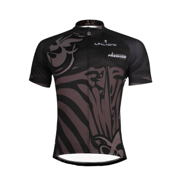 Black Cool Jersey Men's Short-Sleeve Summer Shirt NO.682 -  Cycling Apparel, Cycling Accessories | BestForCycling.com