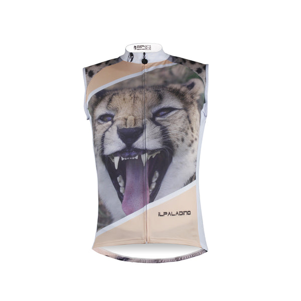 Leopard Panther Naughty Animal Men's Cycling Sleeveless Bike Jersey T-shirt Summer Spring Road Bike Wear Mountain Bike MTB Clothes Sports Apparel Top NO.W677 -  Cycling Apparel, Cycling Accessories | BestForCycling.com
