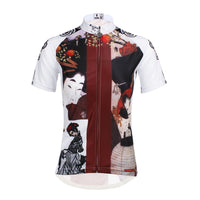 Ilpaladino Traditional Japanese Girl Cycling Jersey Women's Short-Sleeve T-shirt NO.644 -  Cycling Apparel, Cycling Accessories | BestForCycling.com