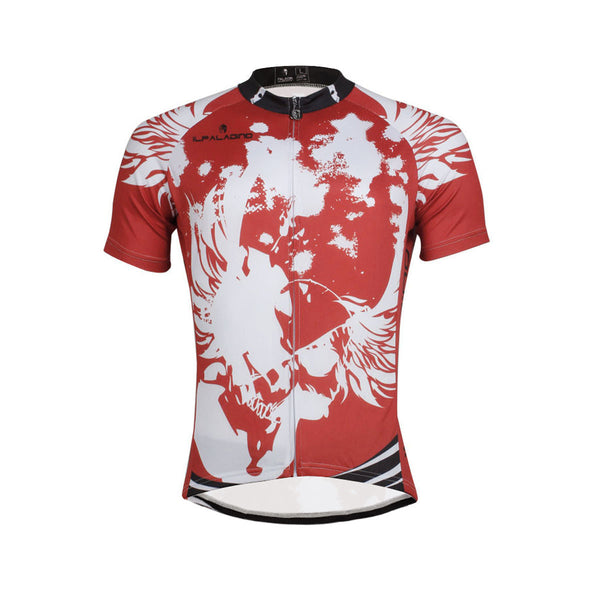Angel White Wing Feather Red Cycling Jersey Men's  Short-Sleeve Bicycling Shirts Summer NO.657 -  Cycling Apparel, Cycling Accessories | BestForCycling.com