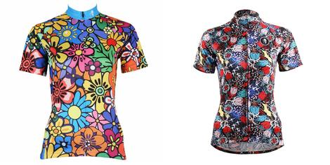 $29.99 for two women's Flowers cycling jerseys short-sleeve 114/629 -  Cycling Apparel, Cycling Accessories | BestForCycling.com