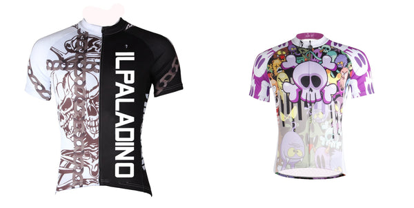 36.99 for two men s cool skull cycling T-shirts short-sleeve summer  sportswear Pro 15beafd6b