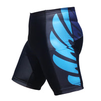 Blue Decor Black Womans Shorts UPF 50+ Spandex Yoga Tight Running Riding Gear Summer Fitness Wear Sports Clothes Hiking Courtgame Apparel Quick dry Breathable -With Pocket Design NO.860 -  Cycling Apparel, Cycling Accessories | BestForCycling.com