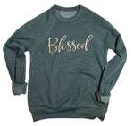 Blessed Adult Unisex Embroidered Sweatshirt